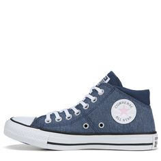 95363b1734ebf8 Converse Women's Chuck Taylor All Star Madison High Top Sneakers (Navy/White /Black