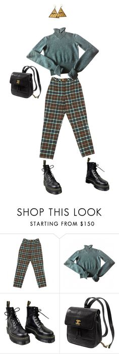 """""""Unbenannt #424"""" by luisaxx ❤ liked on Polyvore featuring Chanel, Dr. Martens, Kate Spade and Rosita Bonita"""