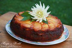 Maya's World: Prajitura cu mere caramelizate