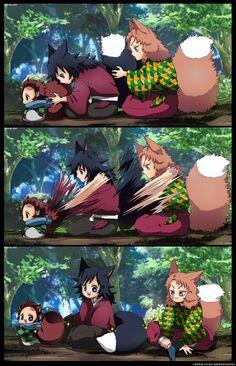 Anime Meme, Otaku Anime, Anime Guys, Anime Art, Cute Anime Chibi, Kawaii Anime, Slayer Meme, Hxh Characters, Familia Anime
