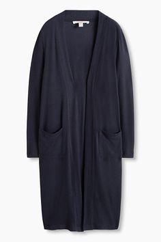 Esprit / Manteau en doux jersey stretch