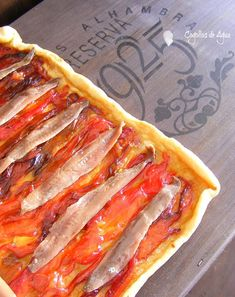 Quiches, Pizza Recipes, Real Food Recipes, Cooking Recipes, Healthy Recipes, Tapas, Mezze, Good Food, Yummy Food