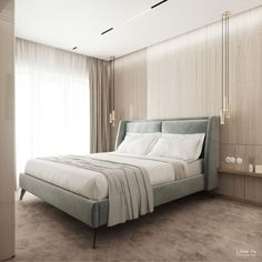 'Ggorgeous' Apartment — Live IN Hotel Bedroom Design, Bedroom Closet Design, Master Bedroom Design, Room Decor Bedroom, Home Bedroom, Modern Luxury Bedroom, Modern Bedroom Design, Contemporary Bedroom, Luxurious Bedrooms