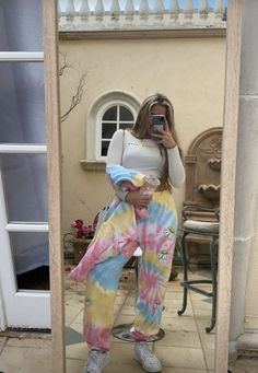 Discover recipes, home ideas, style inspiration and other ideas to try. Cute Lazy Outfits, Girl Outfits, Fashion Outfits, Bad Girl Aesthetic, Aesthetic Clothes, Tie Dye Outfits, Look Plus Size, The Most Beautiful Girl, American Girl