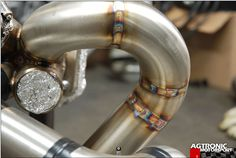 Great example of some TIG welds on stainless steel