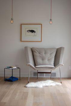 DECA lounge chair, larry parker