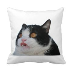 """Pokey Polyester Throw Pillow 16"""" x 16"""". Hidden zipper enclosure; synthetic-filled insert included. Price: $28.95"""