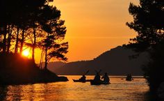 Sea Kayaking Mljet National Park, Croatia