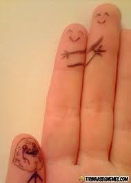 dedos desenhados com carinhas engraçadas - Pesquisa Google