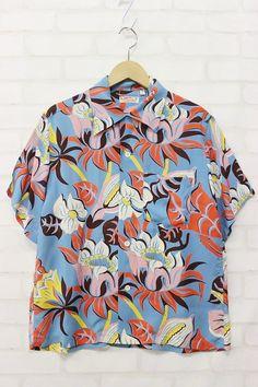 cfbae174 16 Best Hawaiian Shirts images in 2019   Aloha shirt, Vintage ...