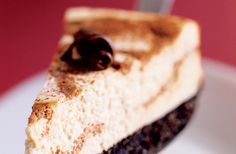 Chocolate Swirl Cheesecake recipe. New York-style cheesecake swirled with a rich chocolate mixture. Serve with fresh raspberries. Diabetic Gourmet Magazine - Diabetic Recipes. DiabeticGourmet.com