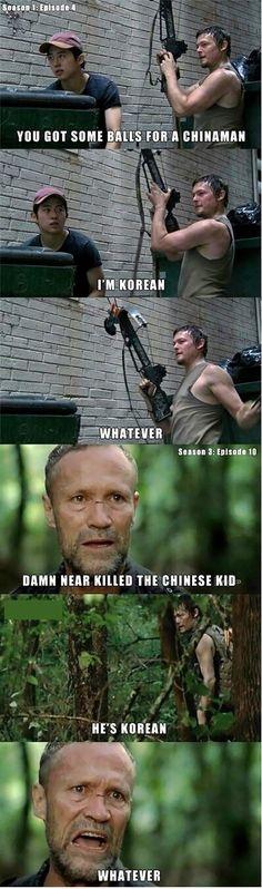 Walking Dead Meme #Chinaman, #Whatever