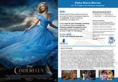 We are giving 10 lucky winners a chance to win a pair of invites to the advance screening of 'Cinderella' at REEL Cinemas on Wednesday, 11th March 2015. Simply share the post 'Cinderella | Screening' on our facebook page and answer the following question in comments of the same post, and you could win 2 invites and gifts, courtesy of Italia Film International.