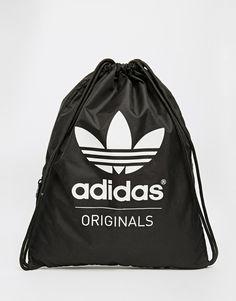 Adidas | adidas Originals Gymsack in Black at ASOS