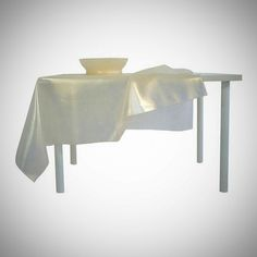 tablecloth with bowl-gold-silicone-by (saar)˚