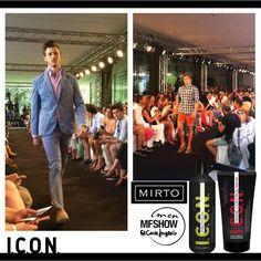 La firma de moda Mirto presenta una colección para hombre con trajes de chaqueta en algodón realizadas con materiales exclusivos y de calidad. I.C.O.N. aporta un estilo con cuerpo y volumen y una fijación muy resistente.