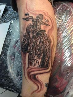 Fan Ink of the Day! Our member Jason C. sent in his tattoo of his Springer motorcycle. Props to the artist Darren McKeag for doing an awesome job.