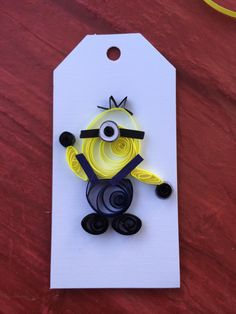 Minion quilling!