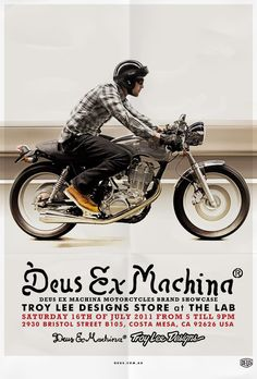 Troy Lee Designs® | Sportswear: Brand Spotlight: Deus Motorcycles - July 16