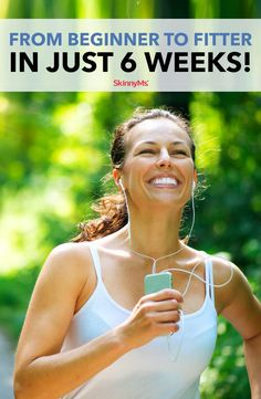 Exercise - From Beginner to Fitter in Just 6 Weeks! Weight Loss Meal Plan, Losing Weight Tips, Fast Weight Loss, Healthy Weight Loss, Weight Gain, Weight Loss Tips, How To Lose Weight Fast, Weight Control, Best Workout Plan