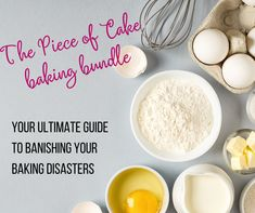 Three Ingredient Recipes, Baking Soda And Lemon, Sour Cream Coffee Cake, Chewy Brownies, Great British Bake Off, Occasion Cakes, Drying Herbs, Piece Of Cakes, Dry Yeast