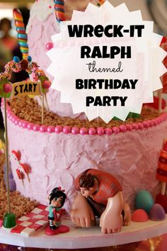 Wreck-It Ralph Themed Birthday Party - Wendy Nielsen