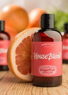 House Blend Organics - Mother Teda's Tickled-Pink Grapefruit Natural B Organic Aloe Vera, Organic Oil, Organic Baby, Organic Body Wash, Natural Body Wash, Soap Labels, Cleanse Your Body, Organic Essential Oils, Pink Grapefruit