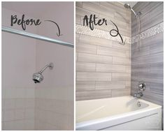 How To Refinish Outdated Tile Yes I Painted My Shower Diy And