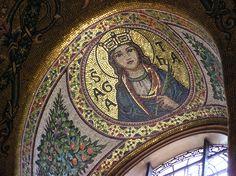 Byzantine church art.