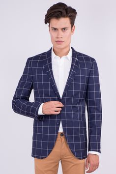 Virgin Wool Checked Blazer: 212,90€ #aristotelibitsiani #blazer