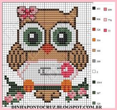 Phenomenal ideas to find out more about Cross Stitch Owl, Free Cross Stitch Charts, Funny Cross Stitch Patterns, Beaded Cross Stitch, Cross Stitch Animals, Cross Stitch Designs, Cross Stitching, Cross Stitch Embroidery, Embroidery Patterns