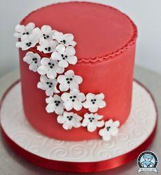 FLOWER CAKE from dreamdaycakes.com