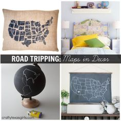 Trend Spotting: Maps in Decor