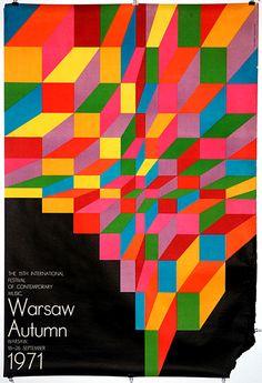 Hubert Hilscher Warsaw Autumn 1971(via)