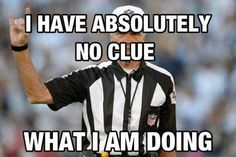 Either a PAC 10 or Big 12 Referee...
