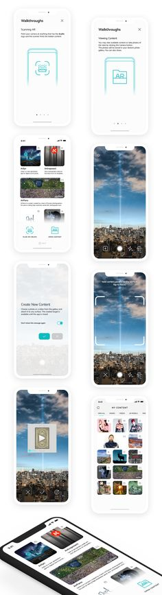 Augmented reality app re-design