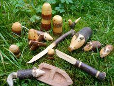 27.06.12, 15:00 - 18:00 Uhr - Mäuse, Messer, Sausebraus - Eltern schnitzen mit ihren Kindern