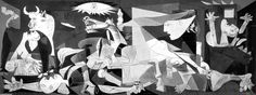 My favourite painting of all time-  Guernica by Pablo Picasso