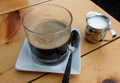 Espresso coffee drinks – Cappuccino, Latte, Mocha and more.
