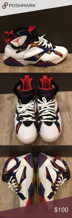 hot sale online 5c988 cdabd Nike Air Jordan Retro 7 Sweaters Mens Size 12.5 These have definitely been  worn! I