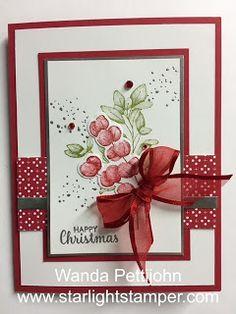 Stamped Christmas Cards, Homemade Christmas Cards, Stampin Up Christmas, Christmas Cards To Make, Xmas Cards, Homemade Cards, Holiday Cards, Stampinup Christmas Cards, Card Making Inspiration