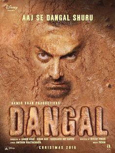Poster Of hindi Movie Dangal worldfree4u 300MB DVDScr Full Hindi Movie