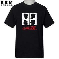 A Must Have for this season! Gorillaz Band T-s... Available at Men Streetwear in Style, check it out today  http://menstreetwearinstyle.com/products/gorillaz-band-t-shirt-xs-2xl-free-shipping?utm_campaign=social_autopilot&utm_source=pin&utm_medium=pin