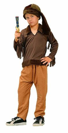 This is a perfect frontier days costume and great Davy Crockett or Daniel Boone costume! Costume comes with brown shirt, tan pants with elastic waist and fur hat. Patriotic Costumes, Cool Halloween Costumes, Halloween Party, Kids Events, Kids Playing, Dress Up, Hipster, Collection, Children Costumes