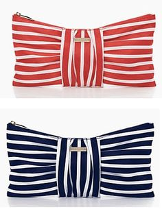 Love these new bow clutches from kate spade!   #GermainDermatology Favorite~ www.germaindermatology.com