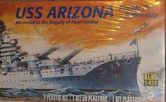 www.jaedasplaythings.com Revell Model Kit USS ARIZONA New Sealed Unopened 2011 Plastic Battleship 1:426 #Revell
