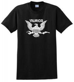 Murica Bald Eagle Taco Gun T-Shirt Large Black ThisWear http://www.amazon.com/dp/B00KDP3CHK/ref=cm_sw_r_pi_dp_vpTVub0ZZXSQK