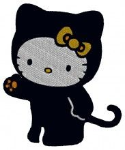 Kitty Embroidery Design - Machine Embroidery Designs