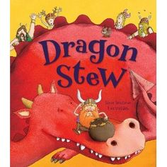 A fun and farcical tale of vikings who decide on a whim to go kill a dragon to make dragon stew. My kids asked for this one over and over again. No dragons were harmed during the making of this book.