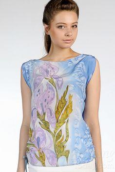 womenclothingtoday.com Silk Blouse Summer Dreamland